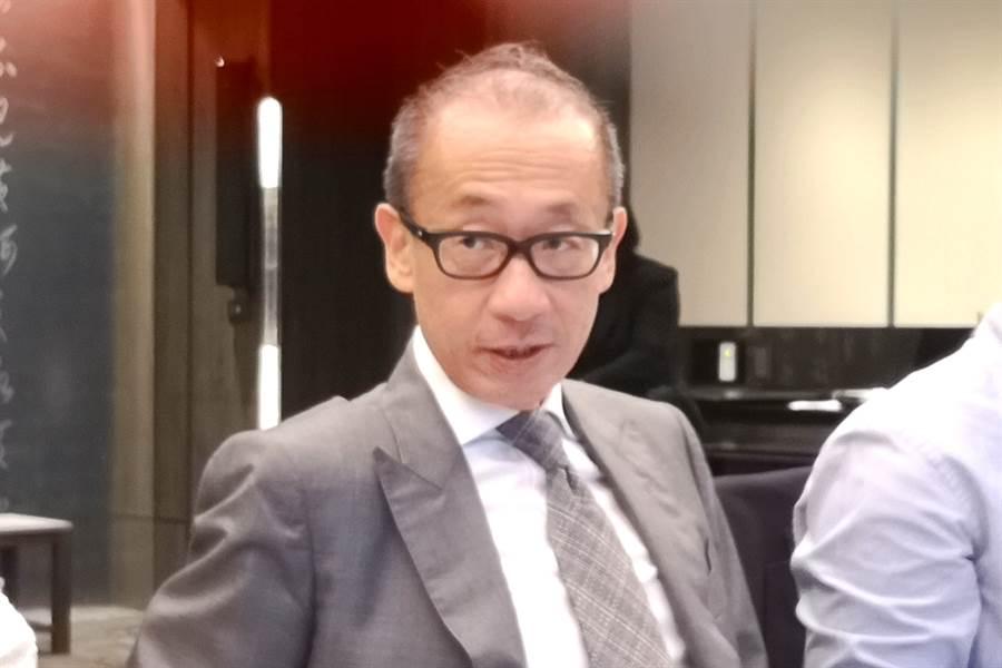 晶華董事長潘思亮。(記者林資傑攝)