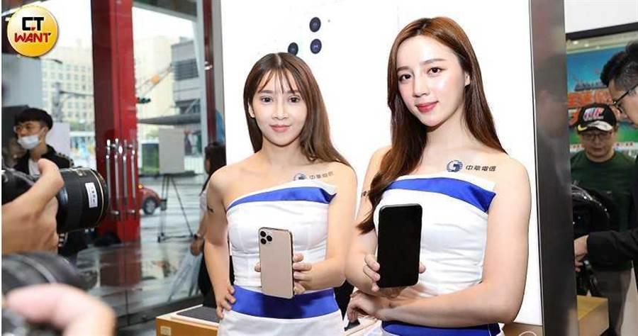 中華電信宣布取得690MHz最大頻寬,包含3.5GHz頻段90MHz及28GHz頻段600MHz頻寬。(圖/王永泰攝)