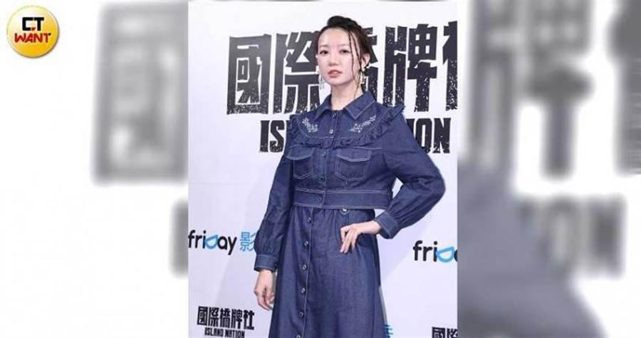 李杏劇中是白色恐怖受害者家屬,為了打探及復仇才進招待所工作。(圖/彭子桓攝影)