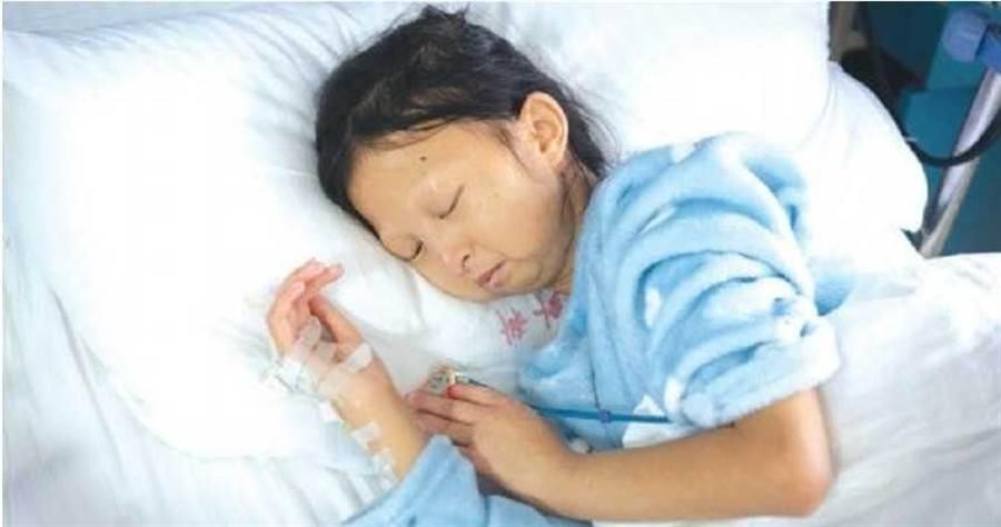 21公斤的吳花燕,13日已不幸過世。(圖/微博)