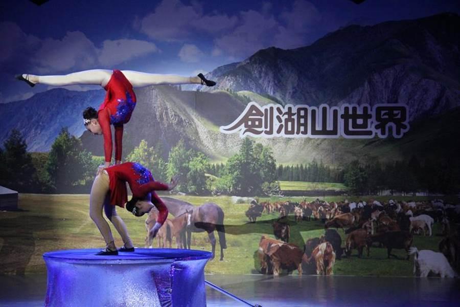 劍湖山世界寒假與春節期間,推出「瘋特技遊樂園、消費抽汽車」吸客。圖/劍湖山