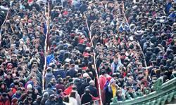 驚!大陸人口突破14億