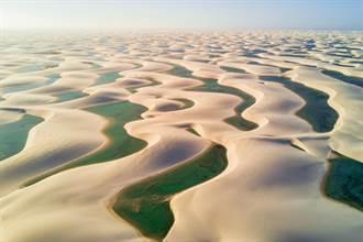 世上最神奇沙漠!水竟然比沙子多