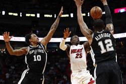 NBA》不玩了?馬刺考慮送雙核去熱火