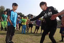 後勁國小足球冬令營 沖繩教練雙語教學