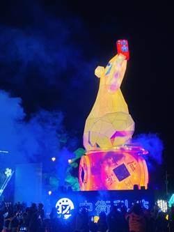 南投燈會「旋轉錢坤」啟動 銅梁火龍將演出5場次