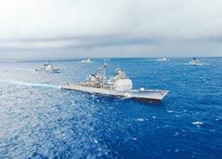美艦過台海 刻意避台領海