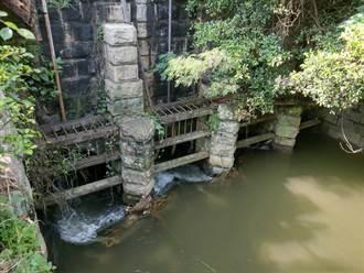 滋潤苑裡農田逾百年 苑裡圳舊水門列古蹟審議通過