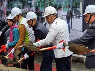 板橋黃石中繼市場開工  第一代攤商現場見證歷史