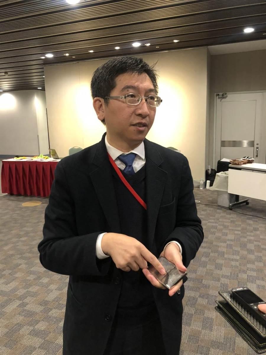 亞洲矽谷計劃行政長李博榮指出,2.0版將協助新創事業變大、加快為目標。(圖:王玉樹攝)