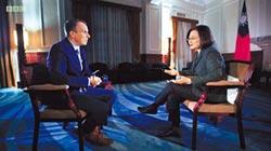 蔡總統稱 中國需準備好面對現實
