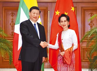 緬奉行一中 稱疆藏台為內政問題