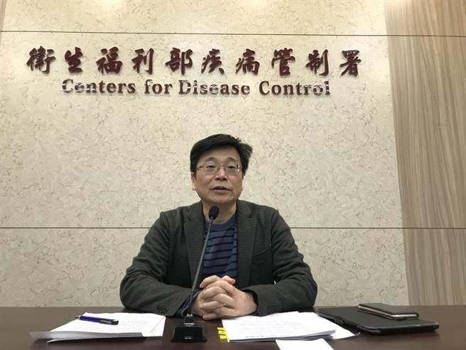 疾管署署長周志浩表示,疾管署已經完成「快速核酸檢驗工具PCR」。(鄭郁蓁攝)