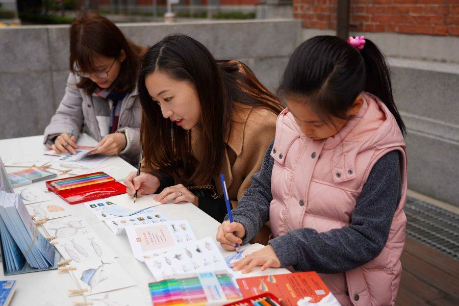 永續年貨市集有多項適合親子共玩的環境教育活動。(圖取自台博館官網)