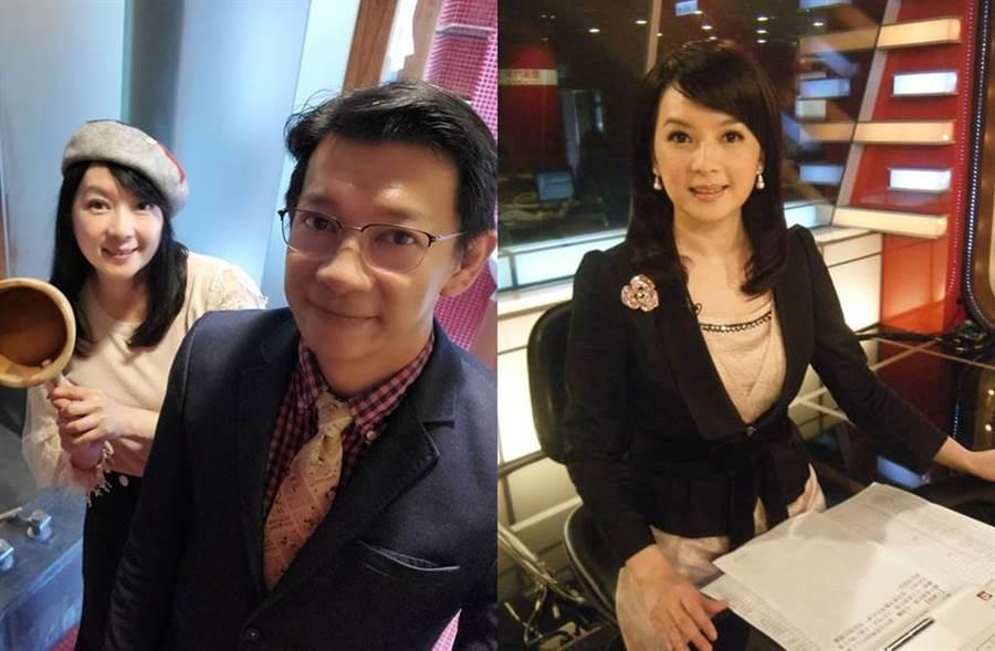 谷懷萱去年和體育主播徐展元結婚。(圖/翻攝自谷懷萱臉書)