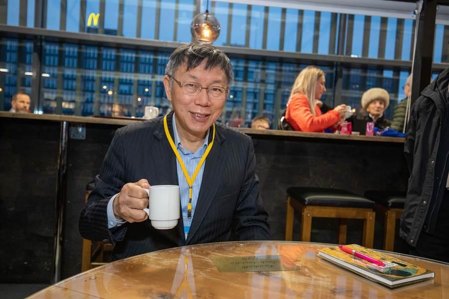 台北市長、民眾黨主席柯文哲出訪歐洲。(北市府提供)