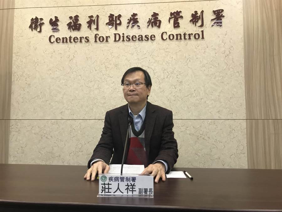 疾管署副署長莊人祥表示,新型冠狀病毒春運期間成為全國性疫情不無可能。鄭郁蓁攝影