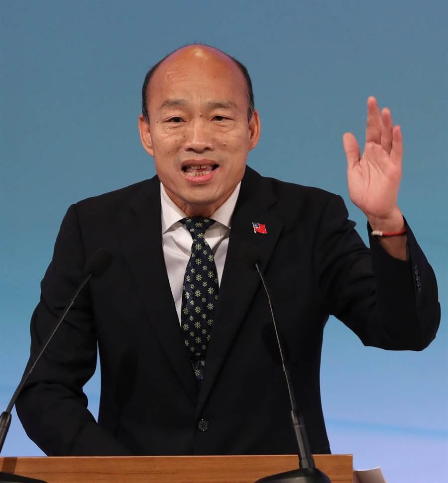 先前總統辯論會一景。(台北市攝影記者聯誼會提供)