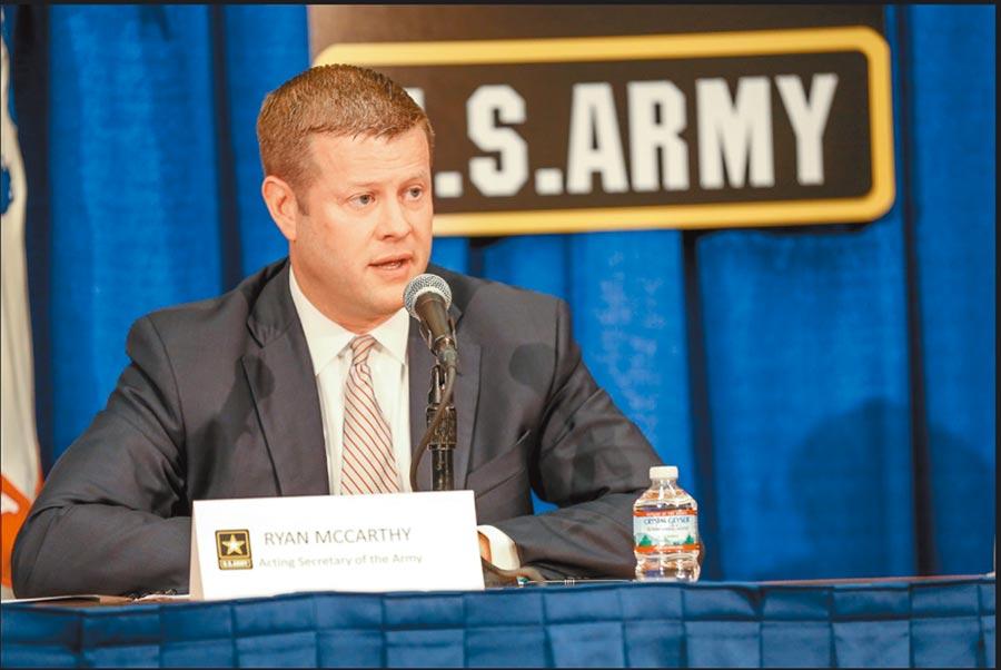 美國陸軍部長里安.麥卡錫。(取自美國陸軍官網)
