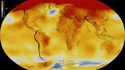 2019年是有史以來第二熱的年份