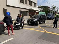 車禍釀嚴重塞車問題 警使出法寶排除交通事故