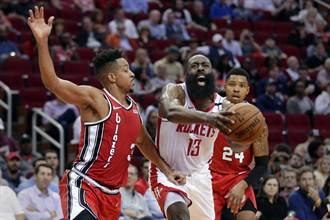 NBA》單打率爆表 哈登壟斷火箭進攻