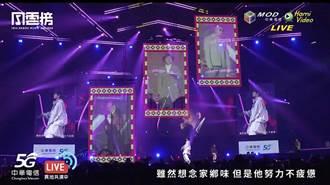 KKBOX風雲榜異地共演 中華電信秀5G MEC視聽體驗