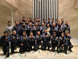 韓國瑜與維安團隊自拍遭議 特勤:事前核准