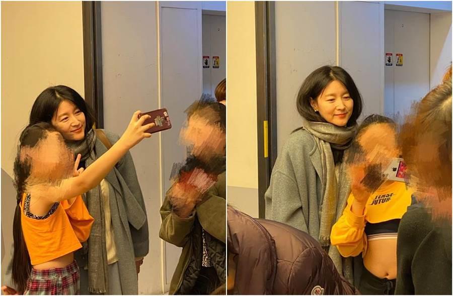 凱莉大讚李英愛仙氣超重。(圖/翻攝自韓國媳婦凱莉之料理女王臉書)