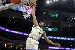 NBA》差點另類大四喜 字母哥率領公鹿強摘7連勝