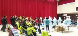 武漢肺炎疫情緊繃 新北消防局一線救護員防疫安全訓練