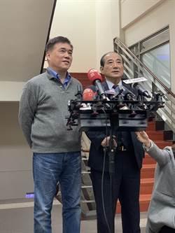 黨主席補選 郝龍斌找王金平支持爆噓聲