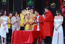 白冰冰《2020超級華人風雲大賞》金裝戴冠 吳宗憲見狀喊卡