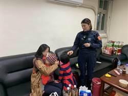 5歲童寒冬中走失嚎啕大哭 女警脫衣幫取暖
