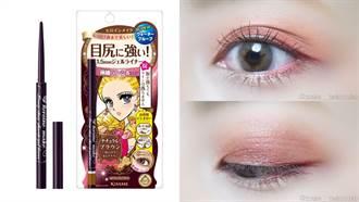 過年睡太飽眼睛超腫?迅速完成深邃眼妝的關鍵在「淺棕色」內眼線