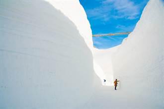 解鎖在雪牆下打卡自拍成就 五天四夜行程充實精彩