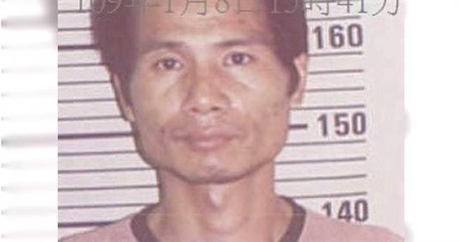 郭坤龍開車隨機尾隨女子,「先撞後姦」犯下多起強姦案,研判目前仍在台四處逃竄。警政署提供