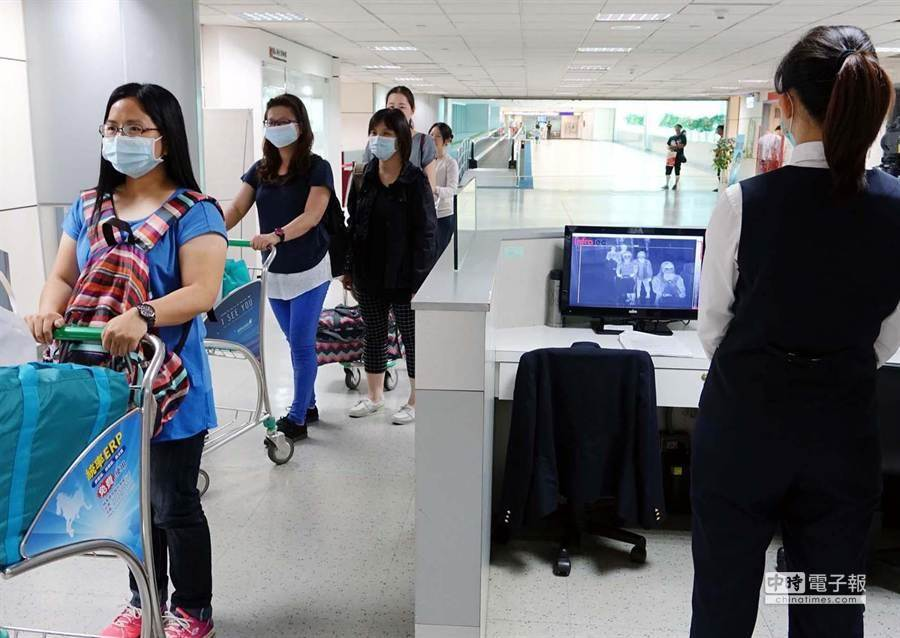 武漢肺炎疫情延燒,機場全面提升檢疫警戒。(本報資料照)