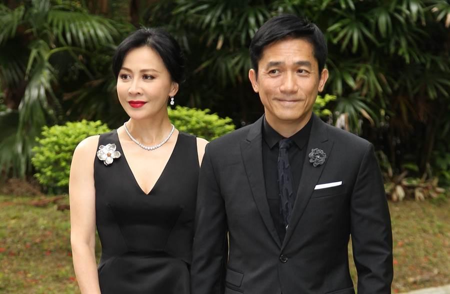 劉嘉玲和梁朝偉同居近20年才決定結婚。(圖/達志影像)