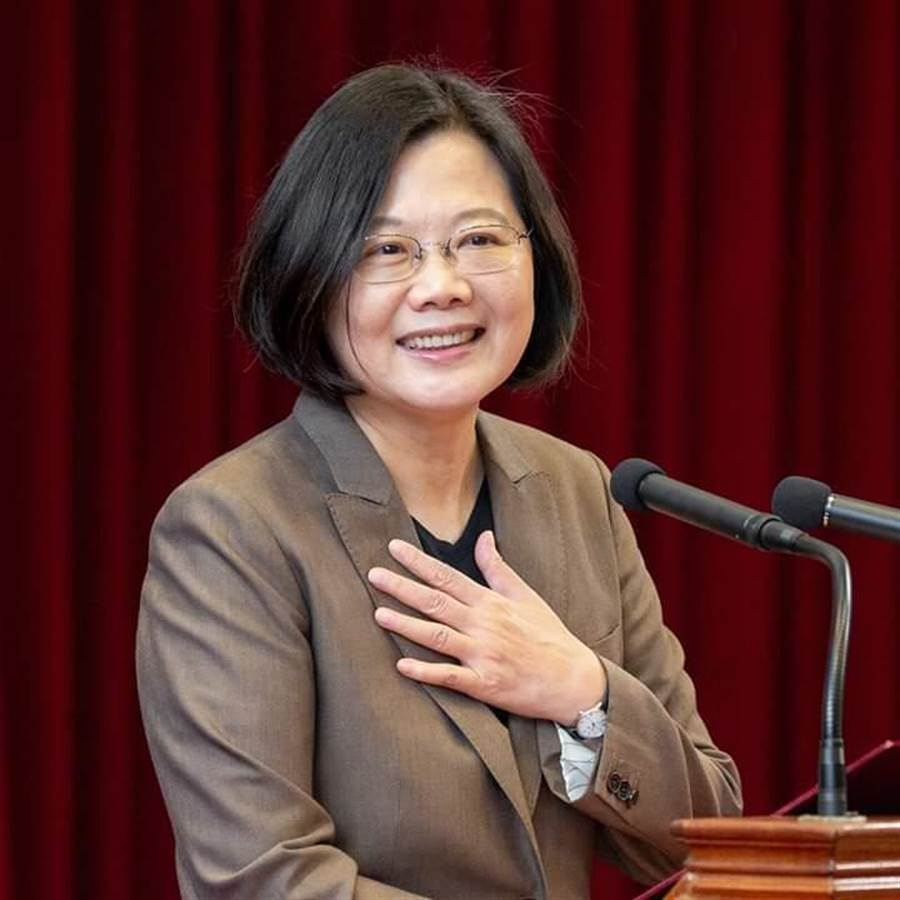 蔡英文致函教宗:只要臺灣不放棄希望終會達到和平。(圖/取自蔡英文臉書)
