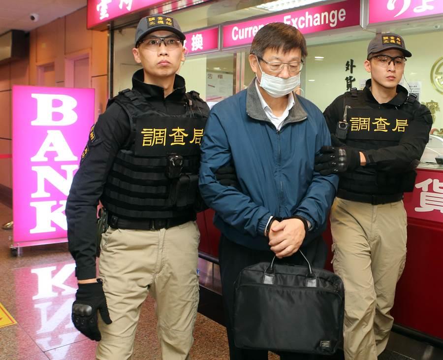 潛逃出國前楊文虎涉嫌向銀行詐貸近400億元,沒想到回國第1件事卻是向銀行匯兌,顯得相當諷刺。(陳麒全攝)