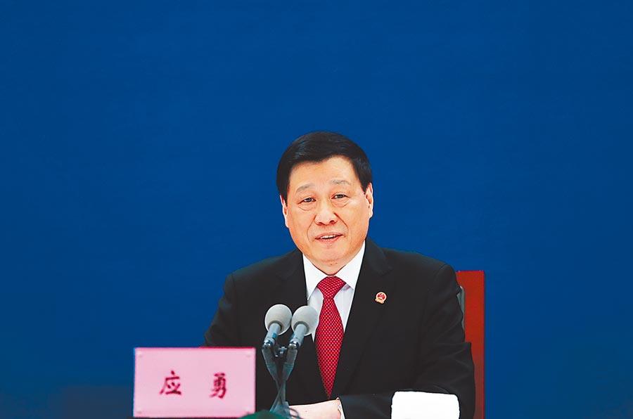上海市長應勇調湖北省委書記。(資料照/中新社)