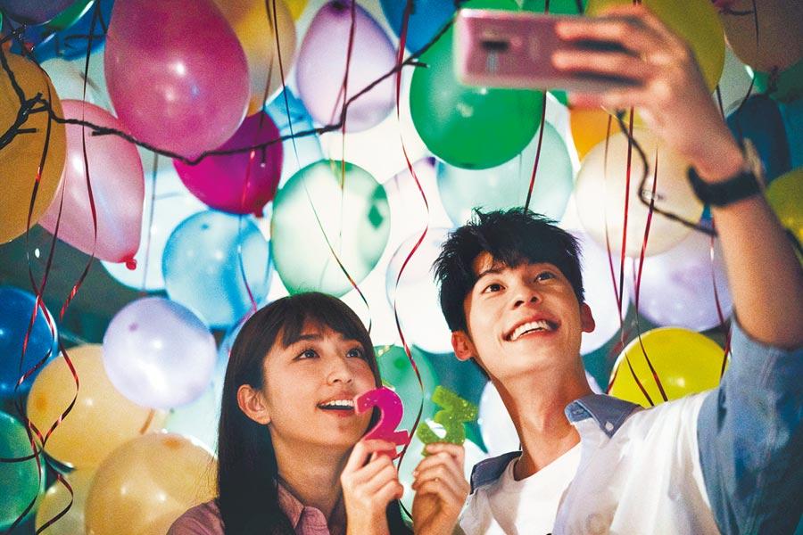 台灣偶像劇《想見你》在豆瓣網評分達9.2分。圖為柯佳嬿(左)、許光漢。(本報系資料照片)