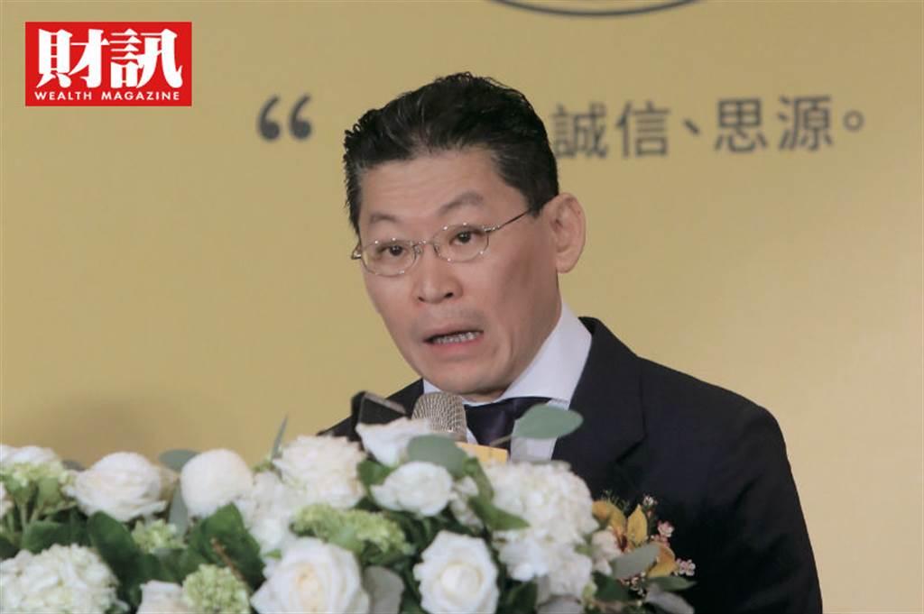 宏泰林鴻南透過林堉璘基金會進行多角化投資。(圖/陳俊松攝)