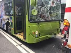 快訊》北市3公車連環撞 7民眾輕傷送醫