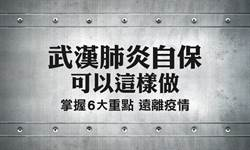 圖解武漢肺炎 自保必知6大重點