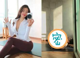 韓國瑜珈妹人體對折 老司機露邪笑