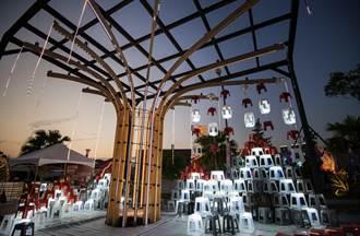 2020南投燈會 半山夢工廠「島嶼生命樹」眾人驚艷