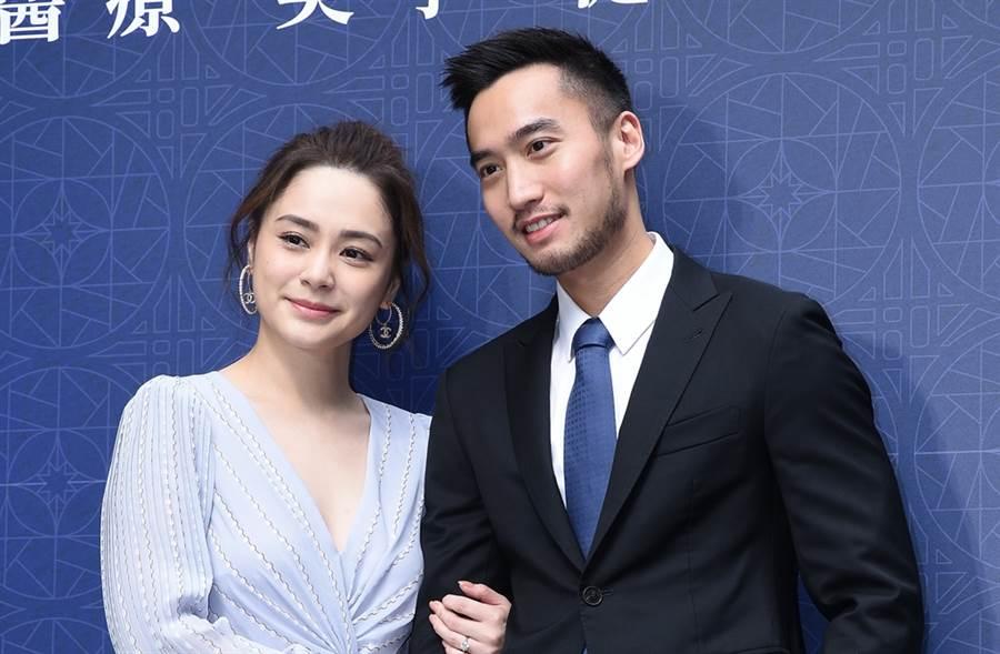 阿嬌與賴弘國結婚兩年。(圖/達志影像)