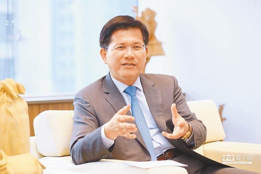 交通部長林佳龍。(本報資料照)